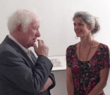 Seamus Heaney and Wendy Artin