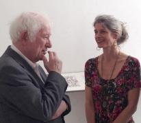 Seamus Heaney and Wendy Artin