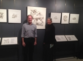 Russ Gerard of Gurari Collections and Wendy Artin