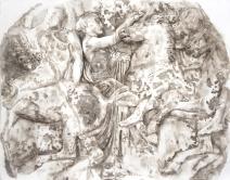 Wendy Artin, Athens Parthenon #1, Horsemen & Marshal, 2016