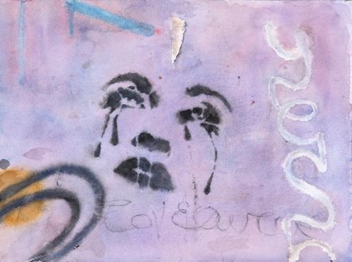 "Wendy Artin, Athens Madonna, 10""x14"", 2017"