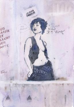 Wendy Artin, Paris, Nico je t'aime, 9x12 2017