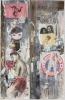 "Wendy Artin, NYC, Muhammed John & Yoko, 26""x41"", 2017"